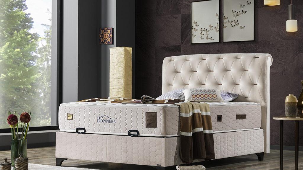 מיטה מרופדת דגם BONNERA