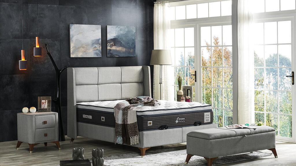 מיטה מרופדת דגם Carina