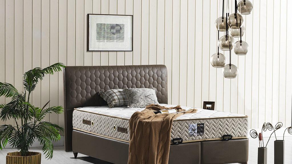 מיטה מרופדת דגם AURA